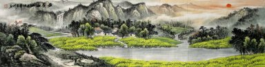 Mountains and water - Chinese Painting