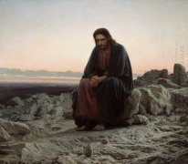 Christ In The Wilderness 1872