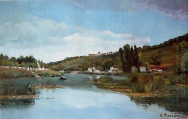 the marne at chennevieres 1864