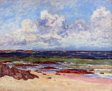 The Coast At Fort Penthievre Quiberon Peninsula