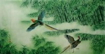 Pheasant&Bamboo - Chinese Painting