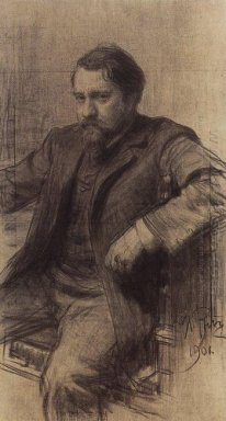 Portrait Of The Artist Valentin Serov 1901
