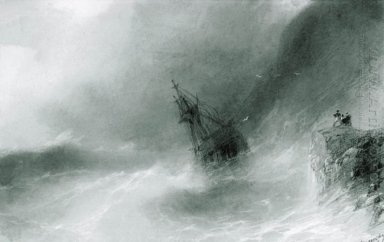 The Ship Thrown On The Rocks 1874