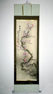 Plum flower - Mounted - Chinese Painting