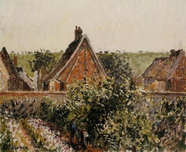 harvest in the orchard eragny