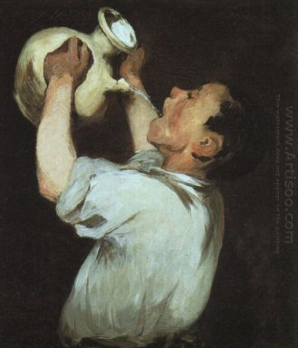 a boy with a pitcher 1862