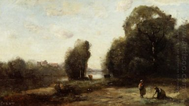 Field By A River 1870