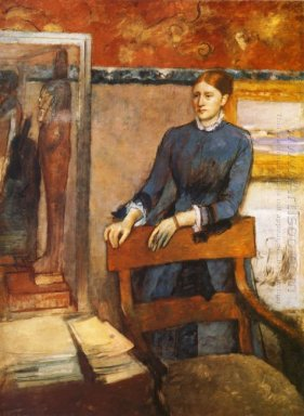 helene rouart in her father s study 1886