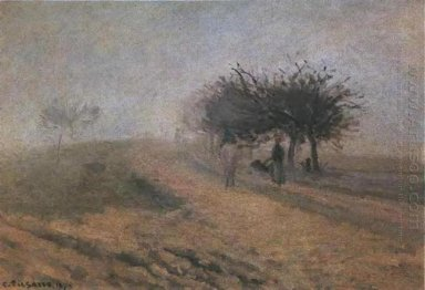 misty morning at creil 1873