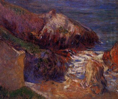 rocks on the coast 1889