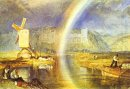 Arundel Castle With Rainbow