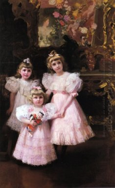 The Three Errazuriz Sisters 1897