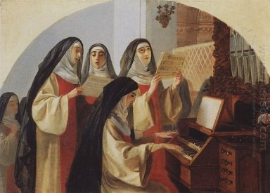 Nuns Convent Of The Sacred Heart In Rome