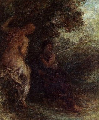 Oil Two Bathers