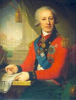 Portrait Of Alexeï Ivanovitch Vassiliev 1800