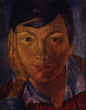 Yellow Face Female Face 1921
