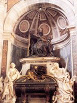 Tomb Of Paus Urbanus Viii 1647