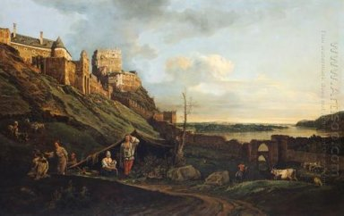 The Ruins Of Thebes On The River March 1758
