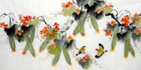 Loofah-Birds - Chinese Painting