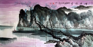 River - Chinese Painting