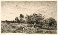 Apple Trees At Auvers 1877