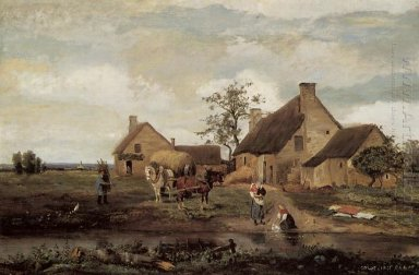 A Farm In The Nievre 1831