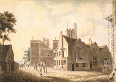 A View of the Archbishops Palace, Lambeth, 1790
