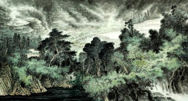 Trees - Chinese Painting