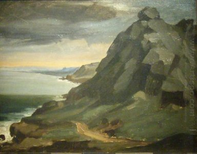 The Rock Of Castel Vendon 1848
