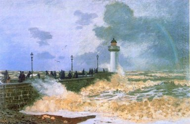 The Jetty At Le Havre 1868
