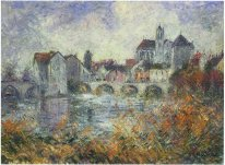 Moret on Loing Autumn