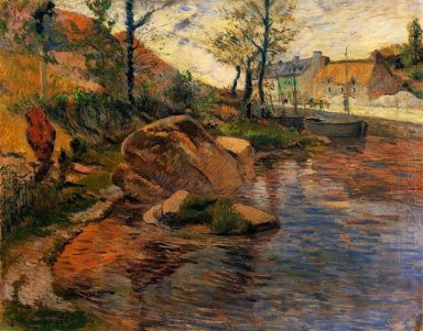 cove opposite pont aven harbor 1888