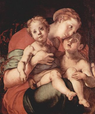 Madonna And Child With The Young Saint John 1527