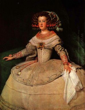 Portrait Of The Infanta Maria Teresa Future Queen Marie Therese