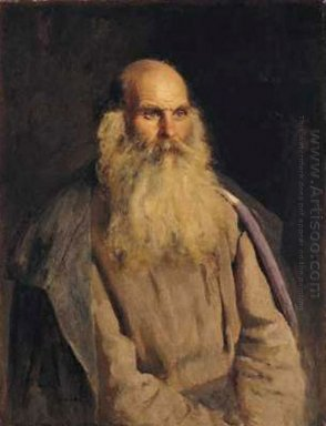 Study Of An Old Man 1878