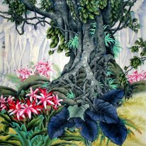 Flowers&Tree - Chinese Painting