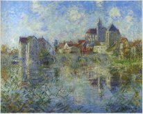 Moret on Loing and the church