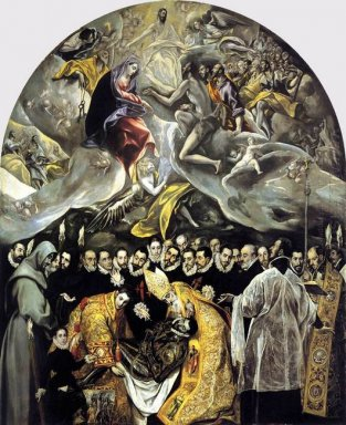 The Burial Of The Count Of Orgaz 1587