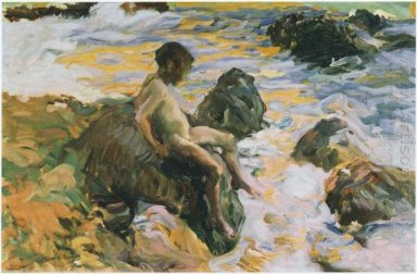 Boy In Sea Foam 1900