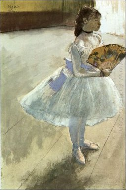 dancer with a fan 1879