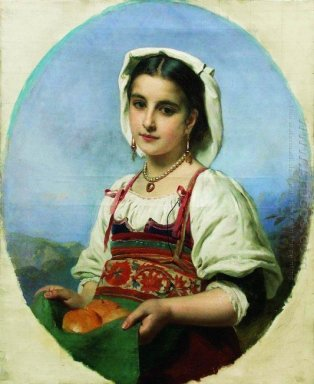 Young Italian With Sour Oranges