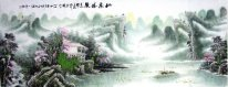 Mountain villa - Chinese Painting