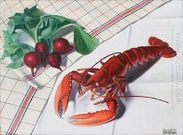 Still-life with Lobster and Radishes