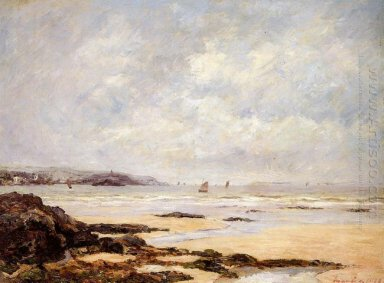 Low Tide At Douarnenez 1908