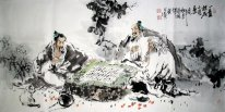 Three white - Chinese Painting