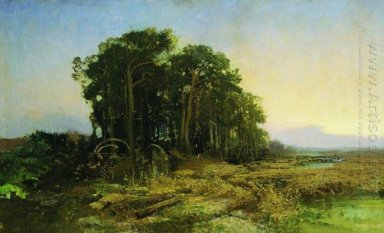 Pine Grove In The Swamp 1873
