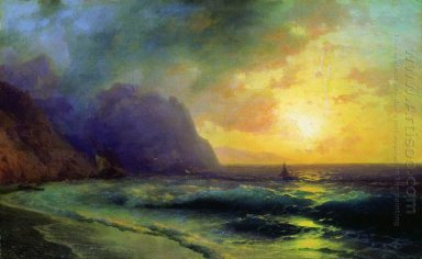 Sunset At Sea 1853