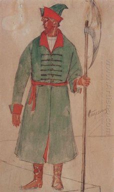 Costume Design For Archer To The Tragedy Of Pushkin S Boris Godu