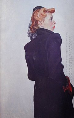 portrait of a woman 1944