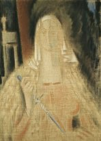 La temperanza, Woman Holding a Knife